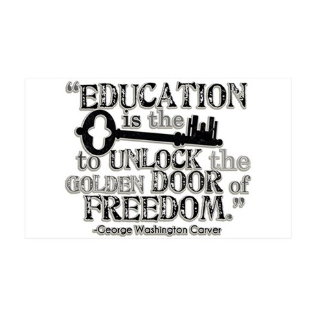 Education Quote 38.5 x 24.5 Wall Peel