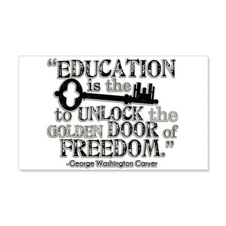 Education Quote 22x14 Wall Peel