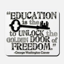 Education Quote Mousepad