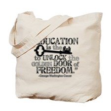 Education Quote Tote Bag
