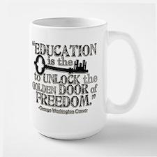 Education Quote Large Mug