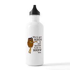 Funny Beer Brewer Water Bottle