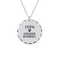 Team Cocker Spaniel Necklace