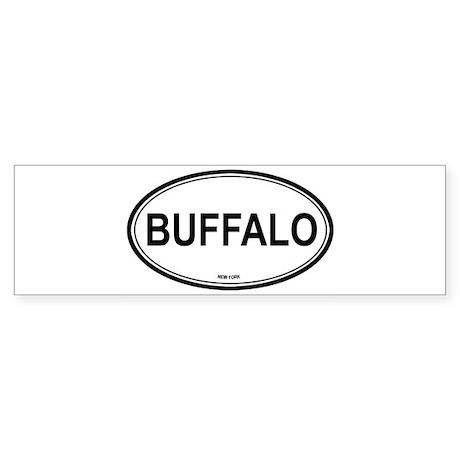 Buffalo (New York) Bumper Sticker