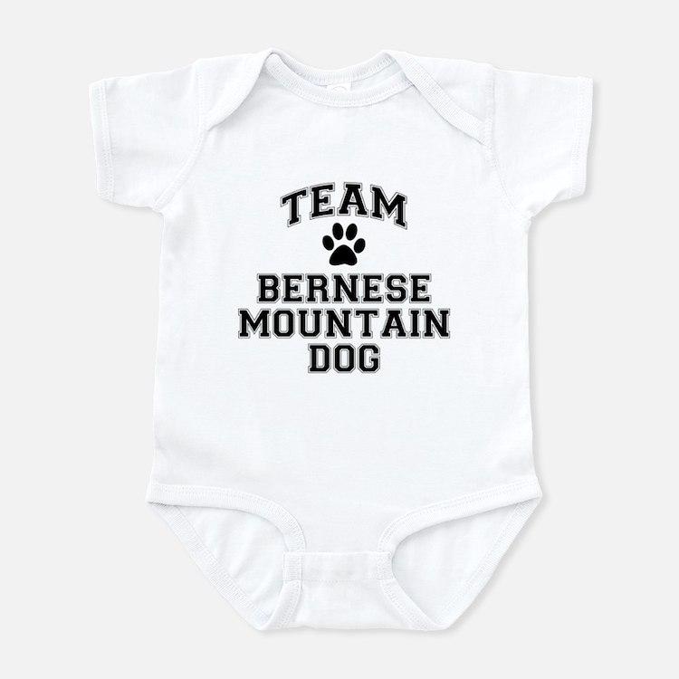 Team Bernese Mountain Dog Infant Bodysuit