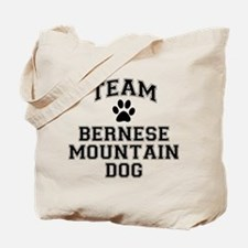 Team Bernese Mountain Dog Tote Bag