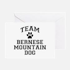 Team Bernese Mountain Dog Greeting Card