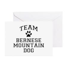 Team Bernese Mountain Dog Greeting Cards (Pk of 10