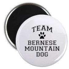 Team Bernese Mountain Dog Magnet