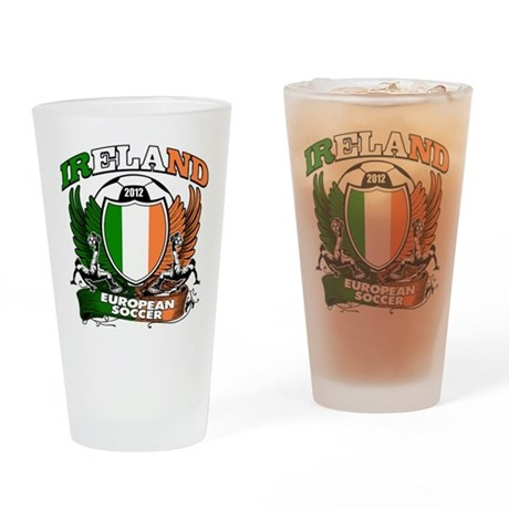 Republic of Ireland Football 2012 Drinking Glass