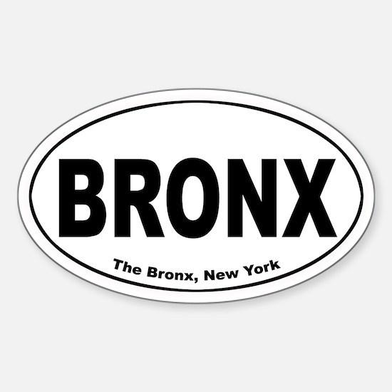 Bronx Oval Decal