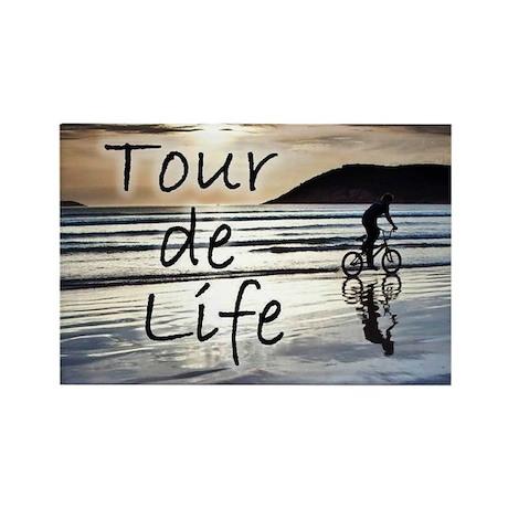 Tour de Life Rectangle Magnet (100 pack)