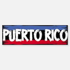 Puerto Rico Bumper Bumper Bumper Sticker