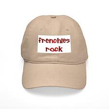 Red Frenchies Rock Baseball Baseball Cap