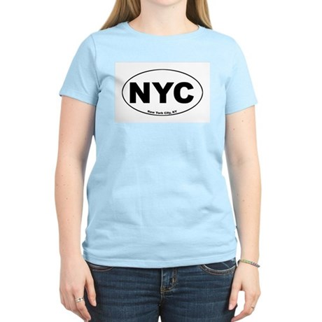 New York City (NYC) Women's Pink T-Shirt