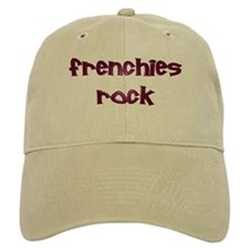 Purple Frenchies Rock Baseball Baseball Cap