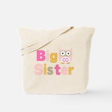 Big Sister Owl T Tote Bag