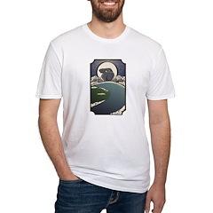 Rabbit Moon Woodcut Shirt