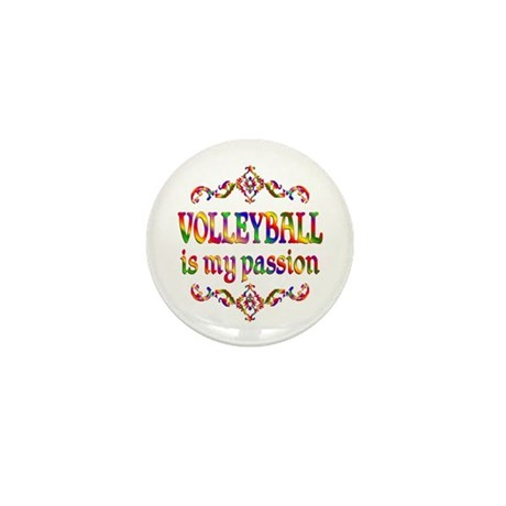 Volleyball Passion Mini Button (100 pack)
