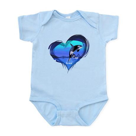 Orca Infant Bodysuit
