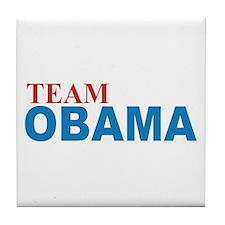 Team OBAMA 2012 Tile Coaster