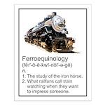 Ferroequinology Small Poster