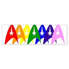 Trek Pride Original Bumper Sticker