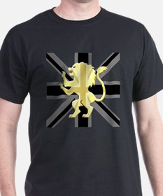 Lion Rampant Union Jack T-Shirt