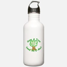 Save a Tree Water Bottle