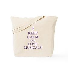 Cute Music Tote Bag