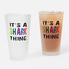 Shark THING Drinking Glass