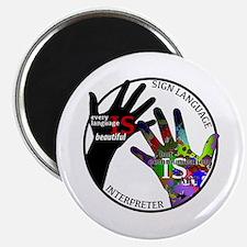 Unique Deaf art Magnet