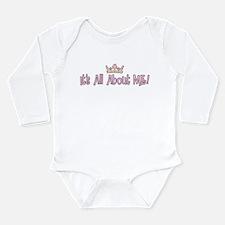 All kids Long Sleeve Infant Bodysuit