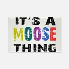 Moose THING Rectangle Magnet