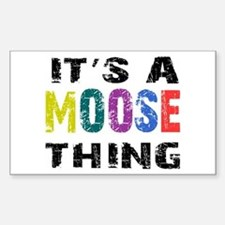 Moose THING Decal