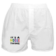 Moose THING Boxer Shorts