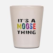 Moose THING Shot Glass