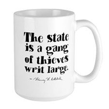 The State Is A Gang Mug