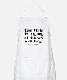The State Is A Gang Apron