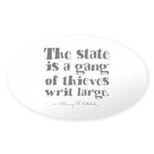 The State Is A Gang Decal