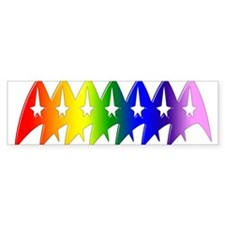 Trek Pride Original Bumper Sticker