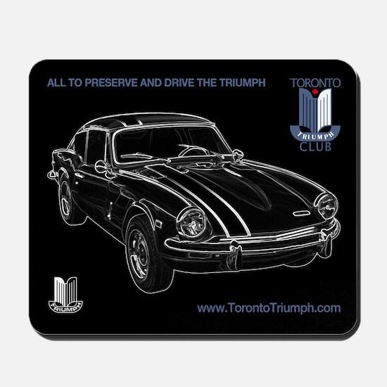 Toronto Triumph Club GT6 Mousepad