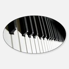 electric keyboard Decal