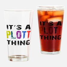 Plott THING Drinking Glass