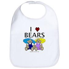 I Love Bears Bib