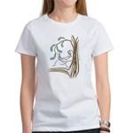 Girl in a Tree Reading Women's T-Shirt