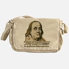 Franklin On Security Messenger Bag