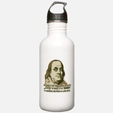 Franklin On Security Water Bottle