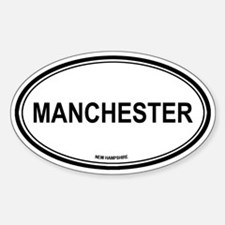 Manchester (New Hampshire) Oval Decal
