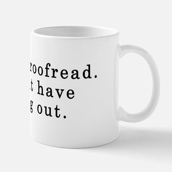 Proofread Mug